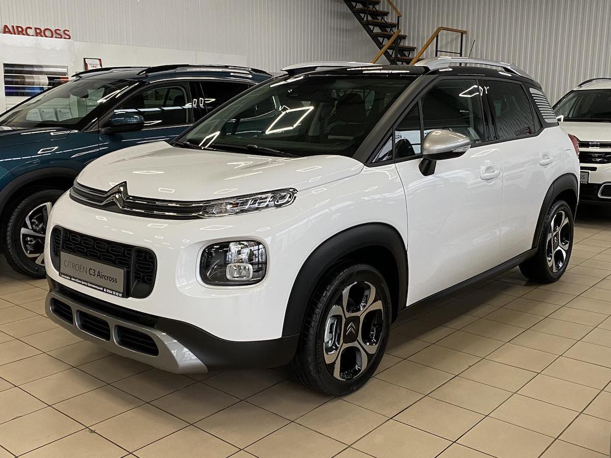 Citroën C3 Air Cross SHINE 1.6 дизель автомат