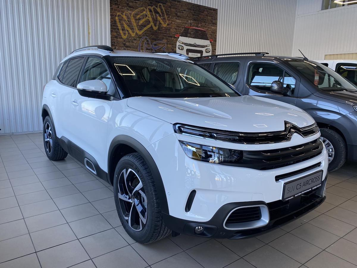 Citroën C5 Aircross FEEL PACK 1.5BlueHDi/96KW 8ст.AISIN
